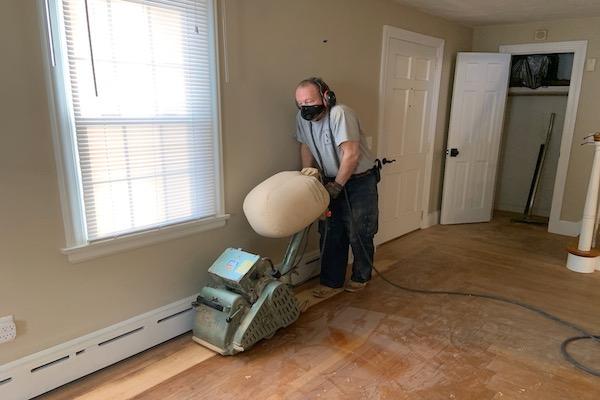 Drum Machine For Sanding Hardwood Floors